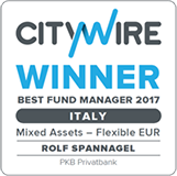 PKB won the Citywire Italy Best Fund Manager award 2017